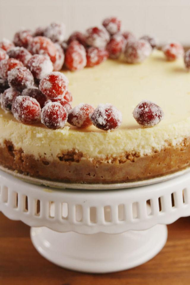 "<p>For those fancy holiday parties.</p><p>Get the recipe from <a rel=""nofollow"" href=""http://www.delish.com/cooking/recipe-ideas/recipes/a56996/sparkling-cranberry-cheesecake-recipe/"">Delish</a>.</p><p><strong><em>BUY NOW: Springform Pan, $16, <a rel=""nofollow"" href=""https://www.amazon.com/Calphalon-Nonstick-Bakeware-Spring-9-inch/dp/B008BULFWS/ref=sr_1_7?tag=syndication-20&s=home-garden&ie=UTF8&qid=1512250107&sr=1-7&keywords=springform+pan&&ascsubtag=[artid"">amazon.com</a>.</em></strong></p>"