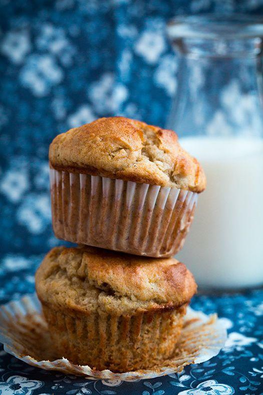 "<p>They might even be better than banana bread.</p><p>Get the recipe from <a href=""http://www.cookingclassy.com/2014/04/gluten-free-banana-muffins/"" rel=""nofollow noopener"" target=""_blank"" data-ylk=""slk:Cooking Classy"" class=""link rapid-noclick-resp"">Cooking Classy</a>.</p>"