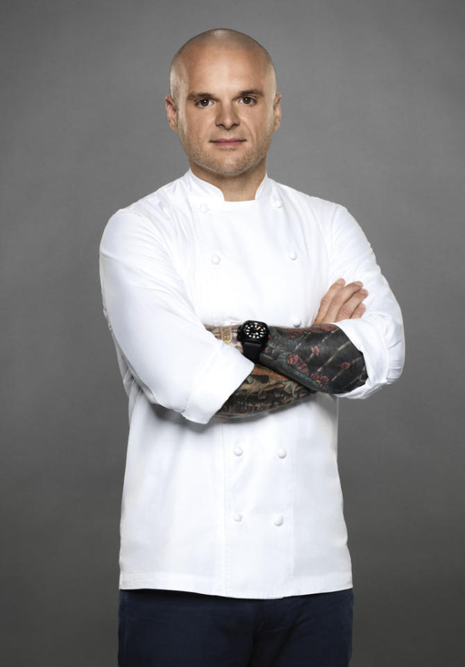 """Chef Nate Appleman is competing on the new season of """"The Next Iron Chef,"""" premiering Sunday, 11/4 at 9 PM on Food Network."""