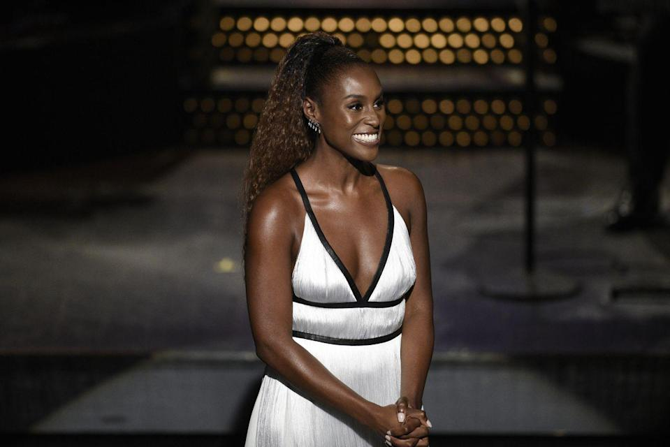 <p>When <strong>Issa Rae</strong> hosted SNL recently, she debuted a gorgeous ombré ponytail. Channel this style by letting your natural texture shine through. </p>