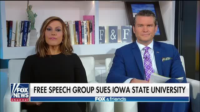 Lawsuit Accuses Iowa State Of Chilling Speech In And Out Of The Classroom Video