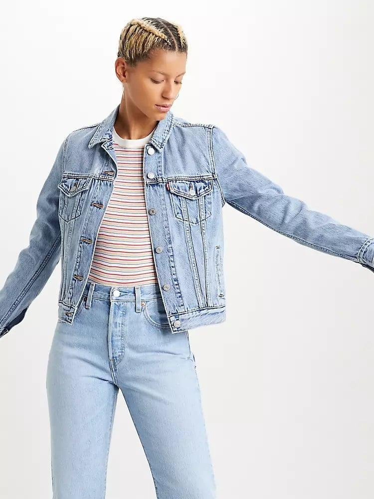 <p>When in doubt, go with this <span>Levi's Original Trucker Jacket</span> ($98).</p>