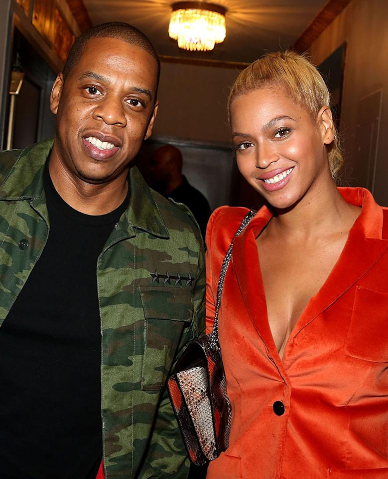 """<p>After Beyoncé dropped <em>Lemonade</em> — which strongly insinuated that Jay-Z cheated — fans eagerly awaited the rapper's response. Would he mention, """"Becky with the good hair""""? He addressed that and more on his latest album, <em>4:44</em>. On the title track, he raps, """"Look, I apologize/ Often womanize/ Took for my child to be born to see through a woman's eyes/ Took for these natural twins to believe in miracles."""" The rapper also acknowledged their difficult time in a """"footnotes"""" video on Tidal, saying their relationship """"wasn't totally built on the 100 percent truth."""" (Photo: Bruce Glikas/FilmMagic) </p>"""
