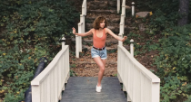 <p>The white sneakers Baby wore to practice her routine in <em>Dirty Dancing </em>were on everyone's feet the following summer.</p>