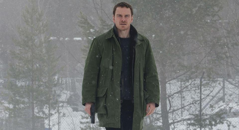 Michael Fassbender plays Harry Hole on the hunt for a serial killer in 'The Snowman' (Universal)