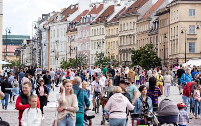 Warsaw's Old Town - Getty