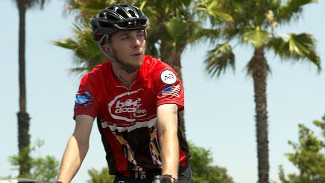 Jacob Landis, the cyclist riding to all 30 MLB parks for charity, hit by a truck in the final days of his trip