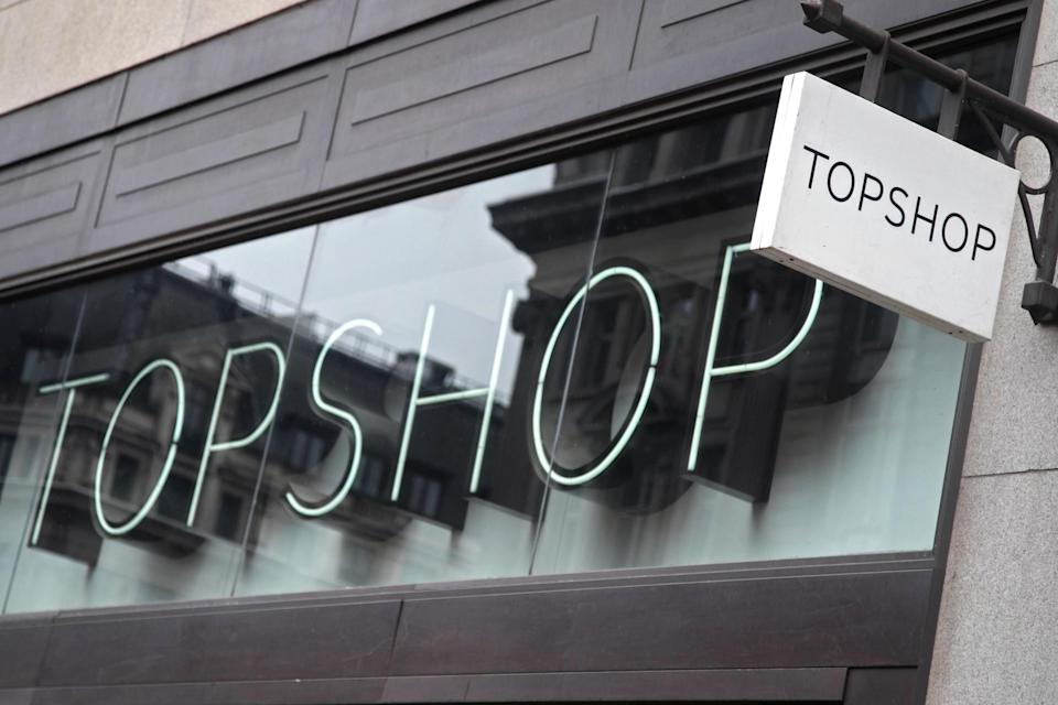 <p>The fallen retail empire includes Topshop and Dorothy Perkins</p>PA