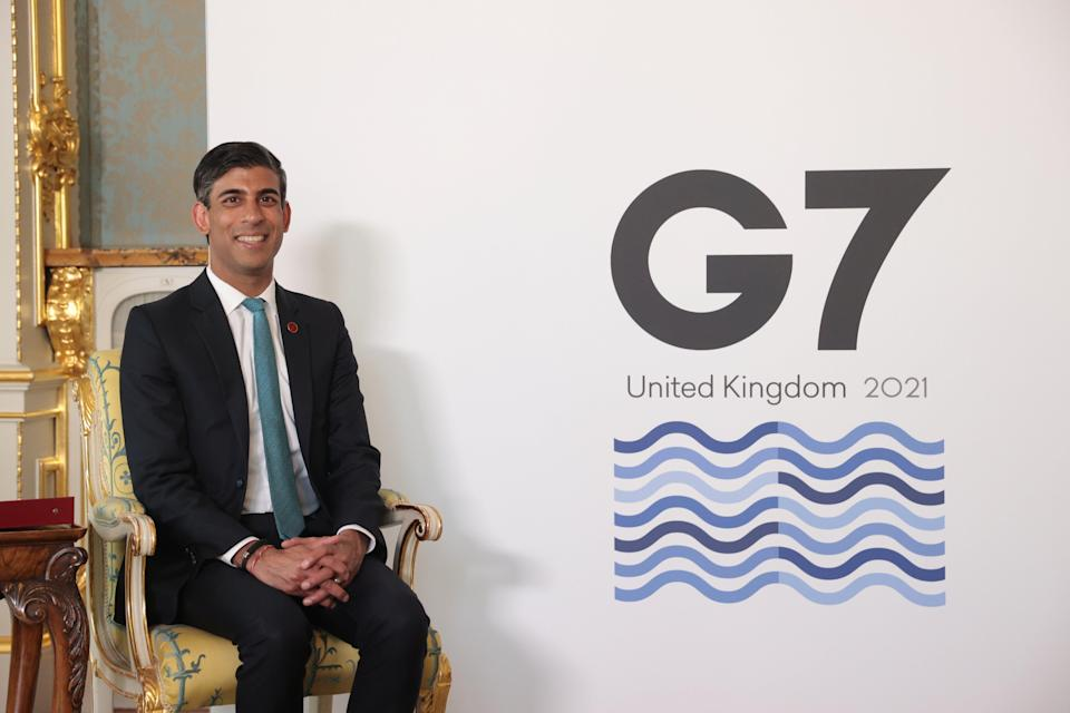 <p>Chancellor Rishi Sunak has inflation concerns</p> (PA Wire)