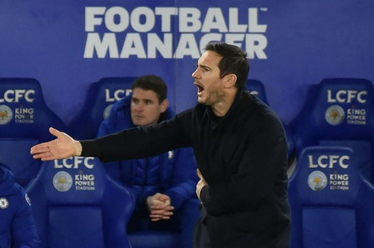 Chelsea manager Frank Lampard is fighting for his job after defeat to Leicester