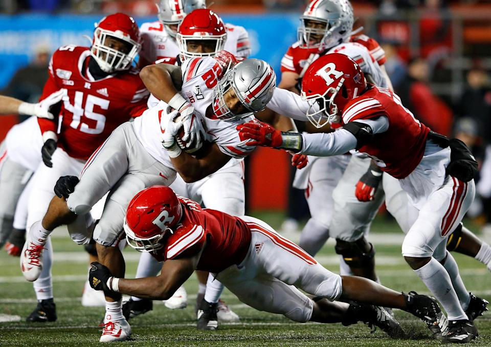 WATCH: Ohio State executes fake punt beautifully against Rutgers