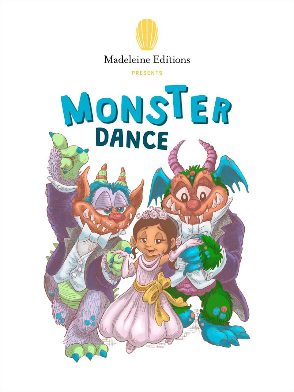 """This upcoming multimedia book aims to keep young children comforted, empowered and informed during the pandemic. <i>(Available <a href=""""https://madeleineeditions.com/stories/monster-dance/"""" target=""""_blank"""" rel=""""noopener noreferrer"""">here</a>.)</i>"""