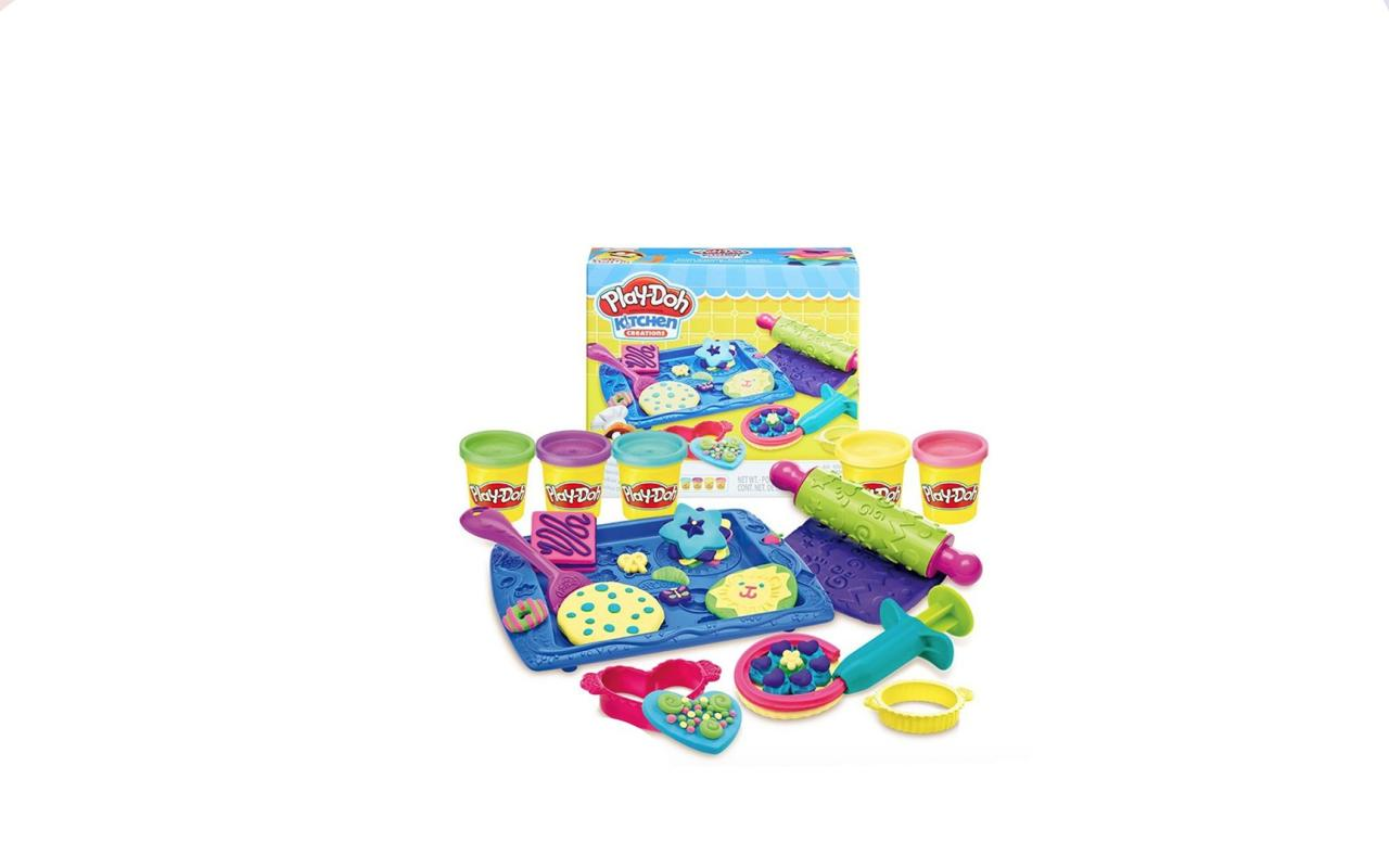 """<p><strong>Why she'll love it:</strong>This soft, squishy stuff has been thrilling preschoolers for more than 50 years. Because it's open-ended, there's no limit to what your child will create with it.</p> <p><strong>Why experts love it:</strong>""""Play-Doh has so many uses, especially if you add tools,"""" says R. Keith Sawyer, Ph.D., a professor of psychology who studies creativity in children at Washington University in St. Louis, Missouri. """"It uses fine motor skills and imagination.""""</p> <p><strong>Our pick:</strong>This collection is a rainy-day lifesaverwith tons of tools and colorsall for some fun cookie creations.</p> <p><a rel=""""nofollow"""" href=""""https://www.amazon.com/Play-Doh-Sweet-Shoppe-Cookie-Creations/dp/B00N3T3N22/ref=as_li_ss_tl?ie=UTF8&linkCode=ll1&tag=mparholl1giftsforthreeyearoldslhoct18-20&linkId=45119536e778277cb57fc641748f91ad&language=en_US"""">Shop This</a></p>"""