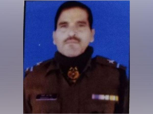 CRPF ASI Mohan Lal who lost his life during the Pulwama attack in 2019.