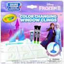 <p>These <span>Crayola Frozen 2 Window Clings</span> ($11) change colors when exposed to hot or cold temps - so cool. If they love <b>Frozen</b>, this is for them.</p>