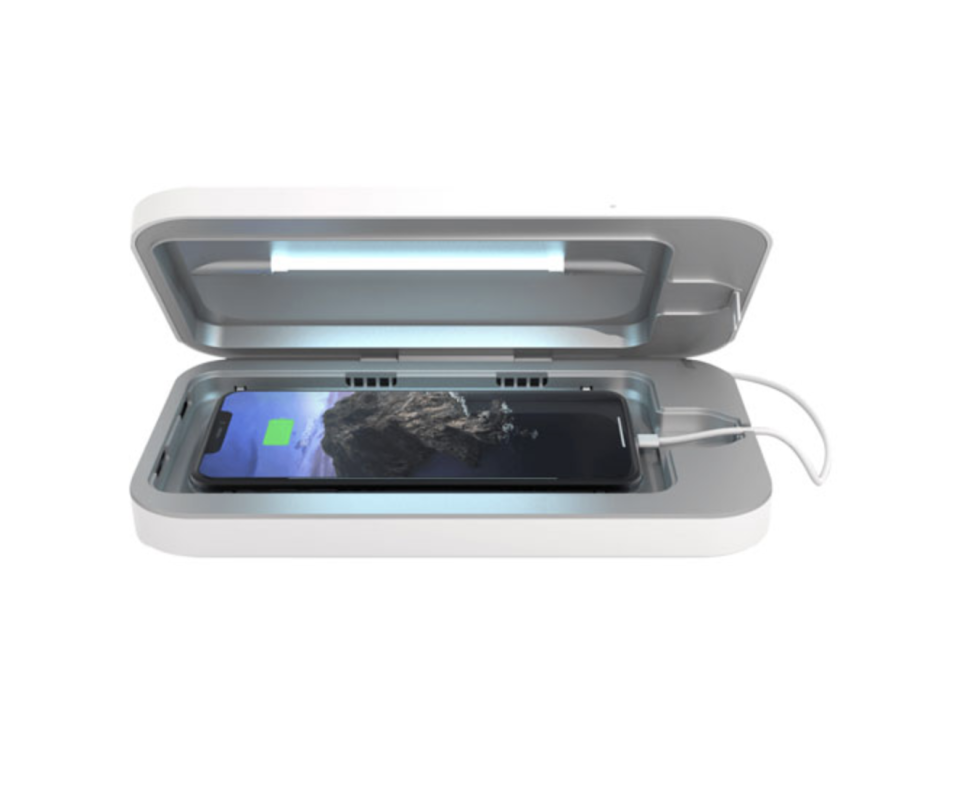 PhoneSoap 3 UV Sanitizer and Charger is on sale at Best Buy Canada.