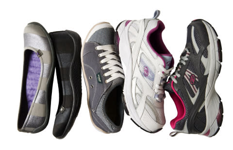 Shoe styles by the makers of Dr. Scholl's Shoes, the official shoe sponsor of March for Babies, avai ...