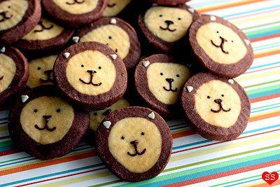 """Need a bunch of cookies during the holidays — but not all at once? Check out this recipe for basic icebox cookies to let you bake and prepare as needed, with the bonus of these adorable lion cookies included too. Learn how to create these at <a href=""""http://www.diamondsfordessert.com/2011/01/lion-cookies.html"""" target=""""_blank"""">Diamonds For Dessert.</a>"""