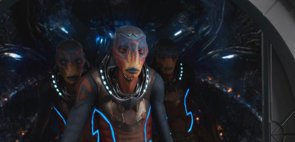 <p>They were the first extraterrestrials to make contact with humans on Alpha. (Photo: EuropaCorp) </p>