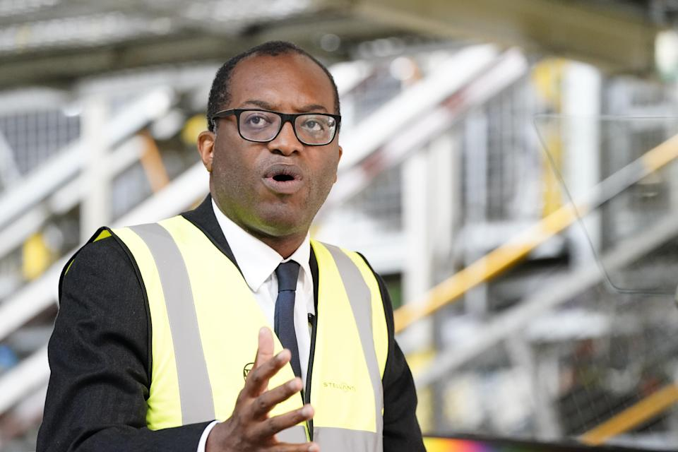 Kwasi Kwarteng, Secretary of State at the Department of Business, Energy and Industrial Strategy, said Sanjeev Gupta should be given time to raise funds to save Liberty Steel. (Peter Byrne / PA) (PA Wire)