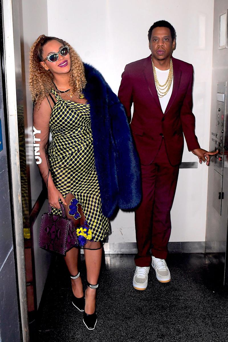 Beyoncé and JAY-Z Happily Pose Up in an Elevator 3 Years After Infamous Solange Knowles Fight