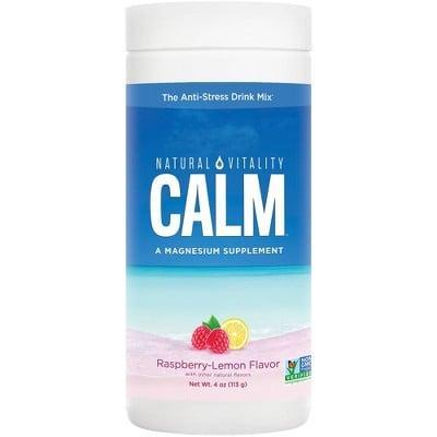 <p>The <span>Natural Calm Mineral Supplement Powder in Raspberry Lemon</span> ($10) is the perfect wind-down beverage right before bed. It's also super yummy!</p>