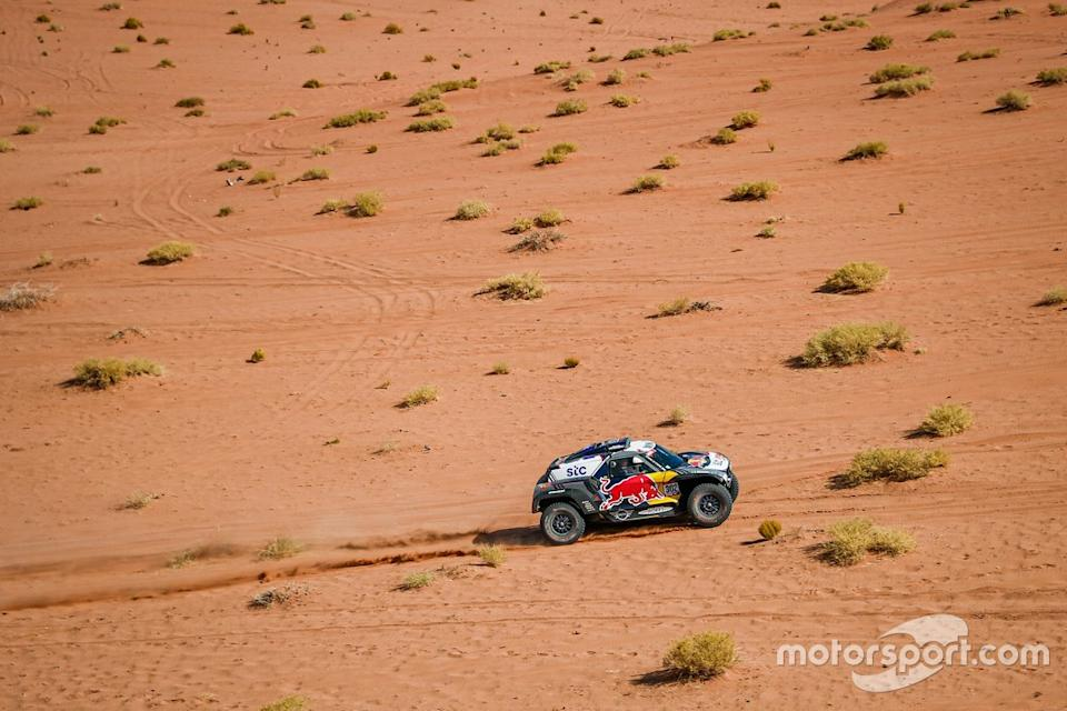 "#302 X-Raid Mini JCW Team: Stephane Peterhansel, Edouard Boulanger<span class=""copyright"">X-raid </span>"
