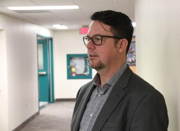 Dr. Sam Hickcox, an addictions and mental health specialist, is shown in 2019. On Thursday, he was appointed the chief officer of Nova Scotia's new Office of Mental Health and Addictions. (Richard Cuthbertson/CBC - image credit)