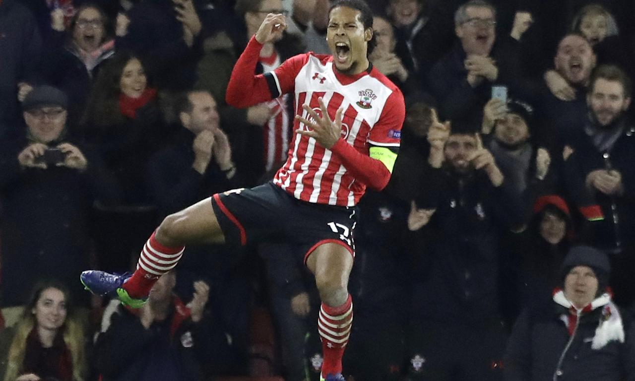 Virgil van Dijk was the subject of transfer interest from Liverpool but had to pull out once Southampton became aware and complained.