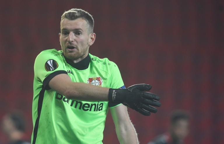 Bayer Leverkusen goalkeeper Lukas Hradecky could laugh off his second-half horror own goal only after his team's 2-1 win at Arminia Bielefeld