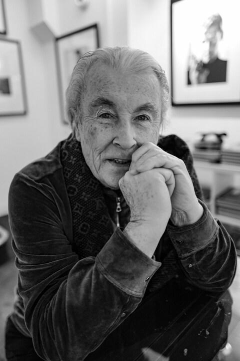 Terry O'Neill CBE pictured here January 2019