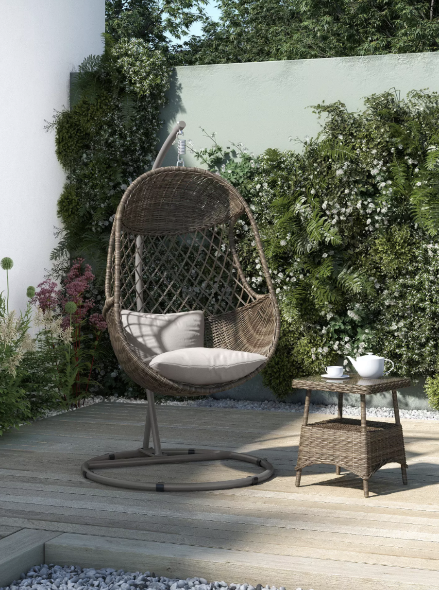 The stylish chair is the perfect addition to your garden. (John Lewis & Partners)