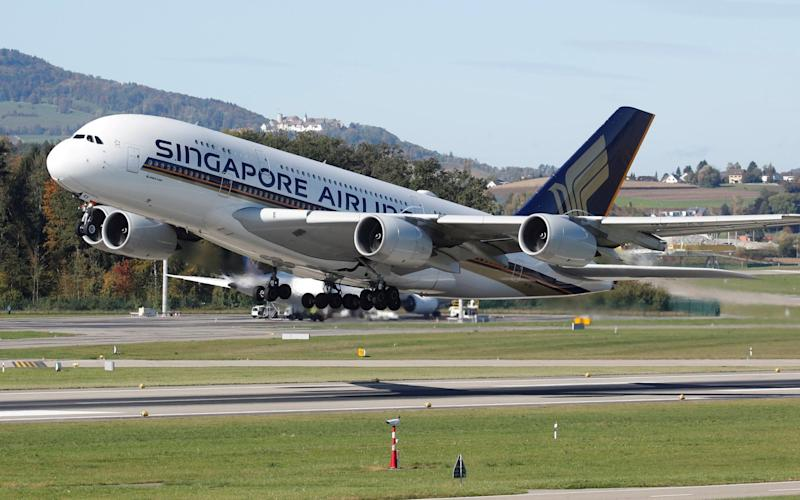 Singapore Airlines turns Airbus A380 into pop-up restaurant