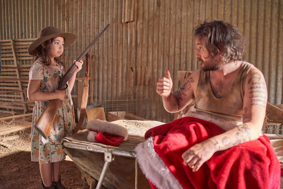 Daryl teaches Daisy the important lessons in A Sunburnt Christmas