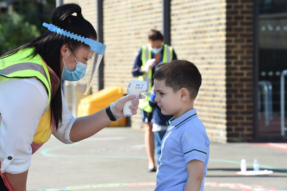 A study has suggested the gradual reopening of primary schools across England alone is unlikely to lead to a second wave of coronavirus: Jeremy Selwyn