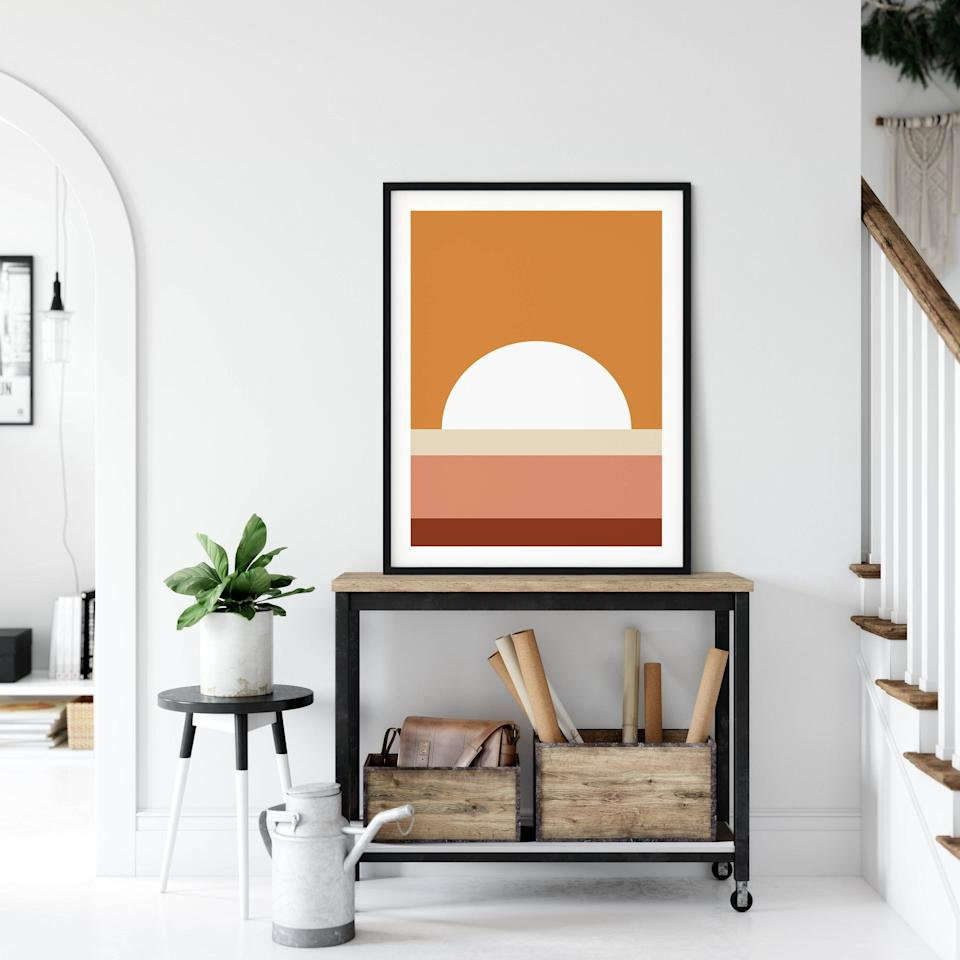 """<p><a href=""""https://www.etsy.com/"""" target=""""_blank"""">Etsy</a> is a go-to source for unique handmade finds, especially when it comes to home decor. Now, the retailer is reminding us of its influence in the design world with the release of its annual <a href=""""https://urldefense.com/v3/__https://blog.etsy.com/news/2020/etsy-announces-2020-home-decor-trends/__;!!Ivohdkk!wS63_z-bGFcITQyNU7VdronBidNlLhG6NSdH-L64RBHu2dC06W9_5xR0loxwMf-eXMKx$"""" title=""""https://urldefense.com/v3/__https://blog.etsy.com/news/2020/etsy-announces-2020-home-decor-trends/__;!!Ivohdkk!wS63_z-bGFcITQyNU7VdronBidNlLhG6NSdH-L64RBHu2dC06W9_5xR0loxwMf-eXMKx$"""">home decor trend guide</a><strong>. </strong>The new report reveals the trends that Etsy shoppers can't get enough of right now — think artwork featuring sunsets, hanging planters, bee motifs, and seashell-shaped decor accents. <br><br>""""This year's decor trends are all about adding personality and comfort into your home,"""" says Dayna Isom Johnson, Etsy's trend expert. """"From burl wood furniture to resin accents, these trends celebrate the beauty of individuality and allow shoppers to infuse their own character and values into their decor.""""</p><p>If you want to weave Etsy's top <a href=""""https://www.goodhousekeeping.com/home/decorating-ideas/g29849170/home-decor-trends-2020/"""" target=""""_blank"""">2020 home decor trends</a> into your own space, scroll down for the site's top picks and shop our favorite items for each trend. <br></p>"""