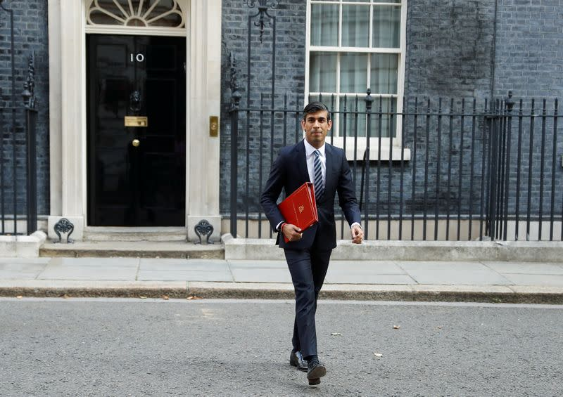 Weekly cabinet meeting at Downing Street in London