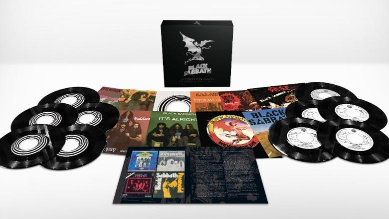 <p>Still need a vinyl fix? This collection contains 10 7-inch singles, including five rare single edits alongside rare or exclusive picture sleeves and new liner notes. </p>