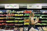 Bowing to pressure from environmentally conscious consumers, big brand shops have begun taking steps to strip their shelves of plastic wrapping