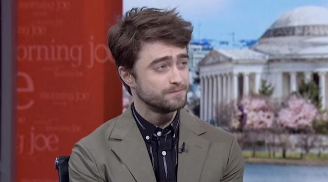 """Harry Potter"" actor Daniel Radcliffe is crazy about American football, but things aren't going so well for one of his fantasy teams. (MSNBC)"