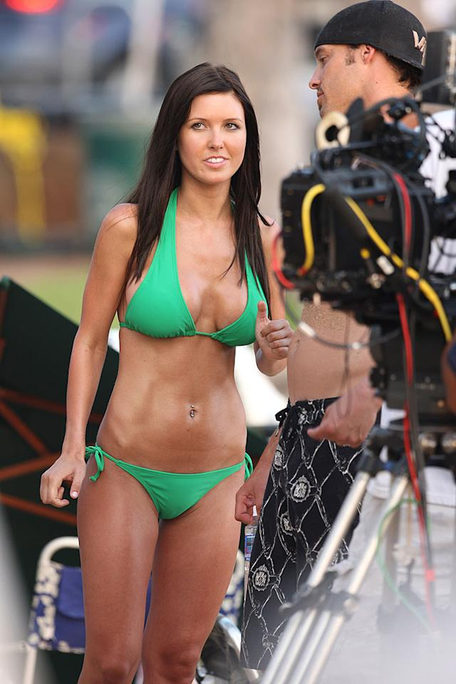 """The casting director responsible for placing """"Hills"""" hottie Audrina Patridge in the sequel to the Jessica Alba/Paul Walker box office bomb, """"Into the Blue,"""" might want to rethink his/her career path. This future flop will likely land in Walmart bargain bins by years end. starsurf/<a href=""""http://www.splashnewsonline.com"""" target=""""new"""">Splash News</a> - May 15, 2008"""