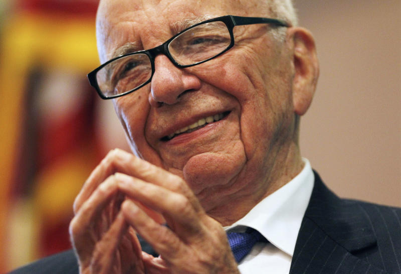 Rupert Murdoch said sexual misconduct allegations at Fox News amount to a few isolated incidents related to the company's former chairman, Roger Ailes.