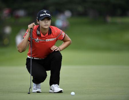 Park grabs first-round lead at Evian Championship