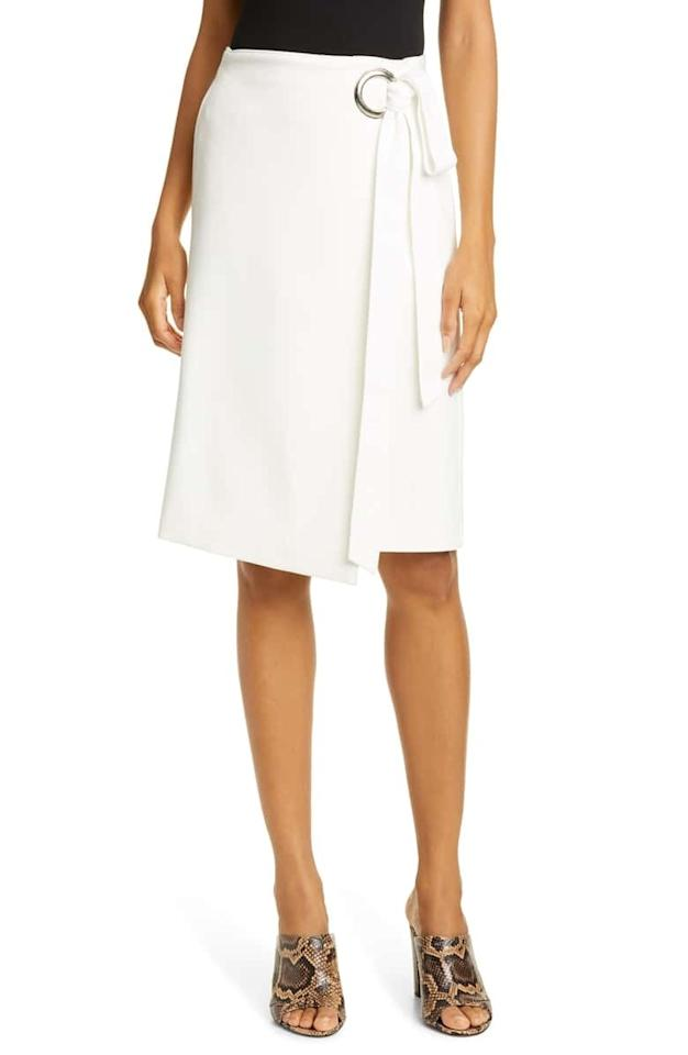 "It's about that time in the summer when you barely want to put on any clothing at all. We don't blame you; it's hot as hell out there. That's why we have easy, breezy skirts, a summer wardrobe icon and staple. Luckily, the Nordstrom Anniversary Sale <a href=""https://click.linksynergy.com/deeplink?id=3r4YdkDiq/o&mid=1237&u1=BestEarlyAccessSkirts&murl=https%3A%2F%2Fshop.nordstrom.com%2Fc%2Fanniversary-sale-womens-skirts%3Fbreadcrumb%3DHome%252FAnniversary%2520Sale%252FWomen%252FClothing%252FSkirts"" rel=""nofollow"">has no shortage</a> of them—from the tiniest of miniskirts to a very good leopard-print midi skirt that would make <em>the</em> <a href=""https://click.linksynergy.com/deeplink?id=3r4YdkDiq/o&mid=1237&u1=BestEarlyAccessSkirts&murl=https://shop.nordstrom.com/c/anniversary-sale-womens-skirts?breadcrumb=Home%252FAnniversary%2520Sale%252FWomen%252FClothing%252FSkirts"" rel=""nofollow"">leopard-print midi skirt</a> very jealous. $196.9, Tibi Wrap Front Skirt. <a href=""https://shop.nordstrom.com/s/tibi-wrap-front-skirt/5269229?origin=keywordsearch-personalizedsort&breadcrumb=Home%2FAll%20Results&color=ivory"">Get it now!</a>"
