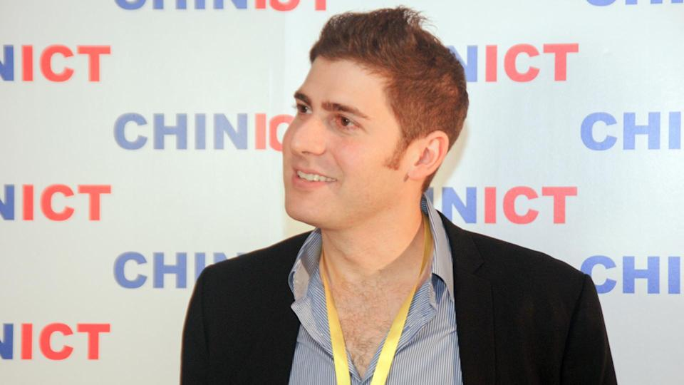 Facebook's co-founder Eduardo Saverin at the 8th annual edition of the CHINICT conference on May 25th 2012 in Beijing, China.