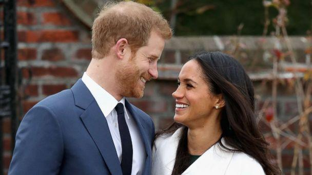 PHOTO: Prince Harry and Meghan Markle during an official photocall to announce their engagement, Nov. 27, 2017 in London. (Chris Jackson/Getty Images)