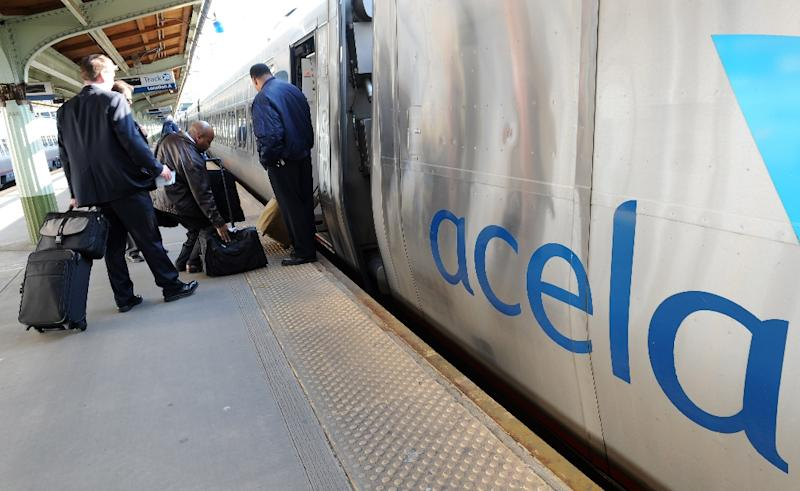 US rail operator Amtrak awarded a $1.8 billion deal to France's high-speed train builder Alstom Friday to supply new trains for its key Acela service between Washington, New York and Boston