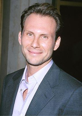 """Premiere: <a href=""""/movie/contributor/1800026672"""">Christian Slater</a> at the Mann National Theater premiere of Dreamworks' <a href=""""/movie/1800421220/info"""">The Contender</a> - 10/5/2000<br><font size=""""-1"""">Photo by <a href=""""http://www.wireimage.com"""">Steve Granitz/wireimage.com</a></font>"""