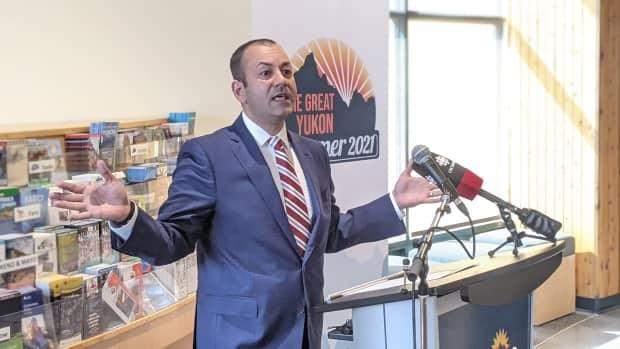Ranj Pillai, Yukon's Economic Development minister. The territory launched a Great Yukon Summer campaign aimed at boosting the tourism sector.