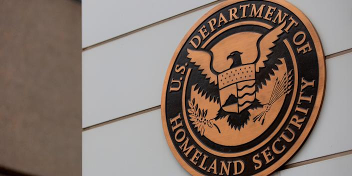 Department of Homeland Security Building in Washington, DC